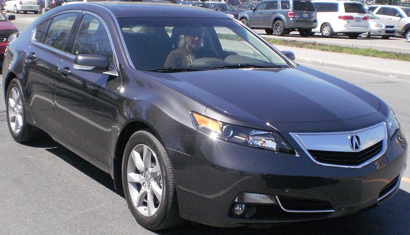 Sharpness Of The Acura Tl